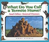 img - for What Do You Call a Group Of - Termite Home? and Other Animal Homes book / textbook / text book