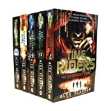 Alex Scarrow TimeRiders Collection Alex Scarrow 5 Books Set Pack (Time Riders, Gates of Rome, The Eternal War, The Doomsday Code, Days of the Predator) (TimeRiders)