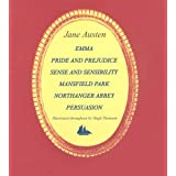 "Jane Austen 6-book Boxed Set: ""Emma"", ""Pride and Prejudice"", ""Sense and Sensibility"", ""Persuasion"", ""Mansfield Park"" and ""Northanger Abbey"" (Collector's Library)by Jane Austen"