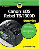 img - for Canon EOS Rebel T6/1300D For Dummies (For Dummies (Computer/Tech)) book / textbook / text book