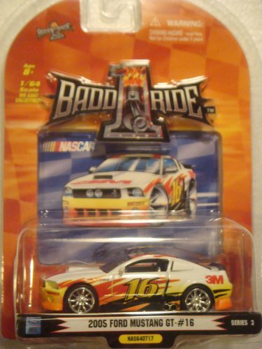 Promark 2007 1/64th Scale Greg Biffle #16 3M 2005 FORD MUSTANG GT Series 3 BADD-1-RIDE