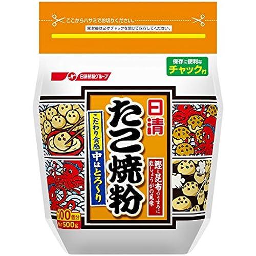 닛신 타코야끼 만들기 밀가루 500g×2개