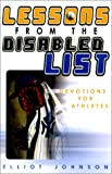 Lessons from the Disabled List : Devotions for Athletes