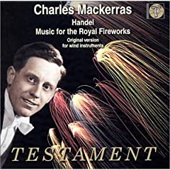 Music for the Royal Fireworks Concerti a Due Cori