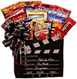 Movie Time! Red Box Movie Rental Snack Gift Box