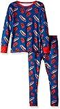 Cuddl Duds Little Boys' Spiderman Toddler Climatesmart Essential 2-Piece Set