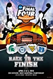 51RXDciFCxL. SL160  2010 NCAA Final Four Race To The Finish Print Poster (24 x 36)