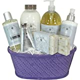 Lavender Flowers Spa Luxury Gift Basket with Epi de Provence Products