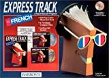 img - for Express Track to French: 4 CDs with Book book / textbook / text book