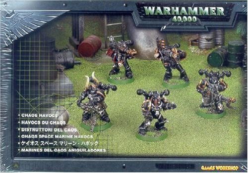 Games Workshop Chaos Space Marine Havocs Box Set (Styles May Vary)