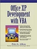 Office XP Development with VBA (0130654175) by Aitken, Peter G.