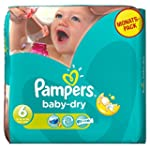 Pampers Baby Dry Size 6 Extra Large M...