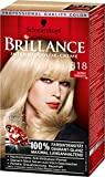 Brillance Intensiv-Color-Creme, 818 Nordic Perlmutt, 3er Pack (3 x 1 Stück)