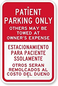 Amazon.com: Patient Parking Only. Others May Be Towed At