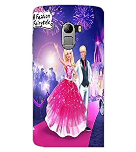 LENOVO K4 NOTE COUPLE Back Cover by PRINTSWAG