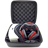 Samsung Gear VR Case For VR Headset - Oculus Rift - HTC VIVE or any 3D Virtual Reality Glasses + Headphones + Gamepad Controller + VR Accessories - GRAPHEIN VR Hard Case with Premium HD Egg Crate Foam