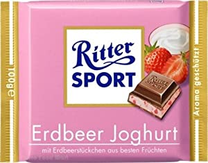 Ritter Sport Strawberry Creme (3.5oz)
