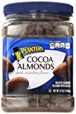 Planters Cocoa Almonds, Dark Chocolate Flavor, 37 Ounce