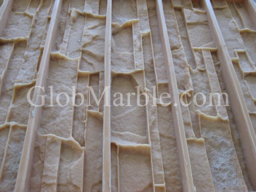 Cultured Stone Mold, Wall Veneer Paver. Rubber Mold Vs 601/1