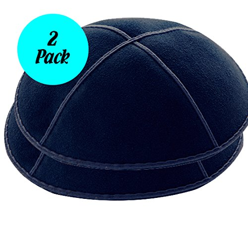 2-pack-navy-blue-suede-leather-four-panel-kippah-yarmulkah-yarmulke