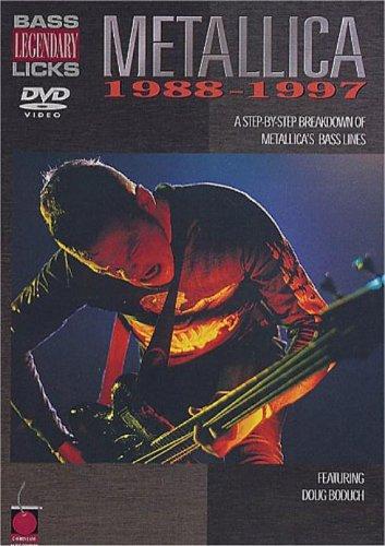 Legendary Bass Licks - Metallica 1988-97 [2002] [DVD] [NTSC]