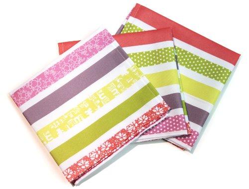 lulu-castagnette-lot-de-3-serviettes-imprime-douceur-40-x-40-cm
