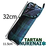 【NURENAI傘】 正規販売店 傘カバー タータンチェック【ロングタイプ】(32cm×11.5cm)