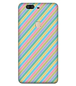 Fonokart Premium Huawei Honor V8 Colorful Stripe Pattern Designer 3D Printed Matte Finish Slim Unique High Quality Case Slim Lightweight Back Cover Hard Case