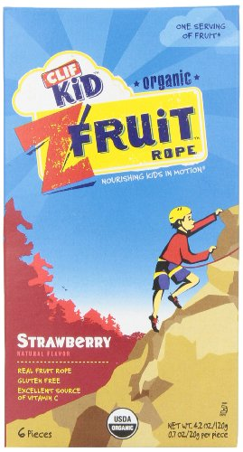 Clif Kids Twisted Fruit Strawberry, Organic, 6 ct (Fruit Twists compare prices)