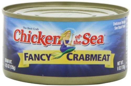 Chicken of the Sea Fancy Crab, 6-Ounce Cans (Pack of 12)