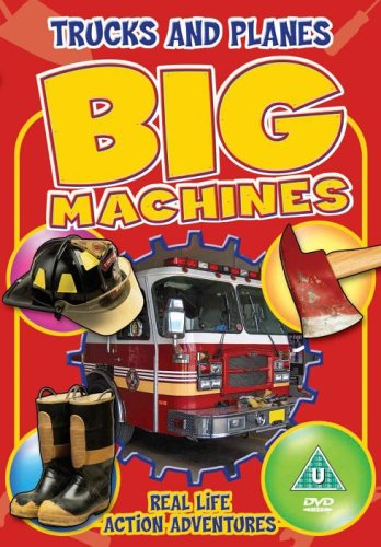 Big Machines - Trucks & Planes [DVD] Real Life Action Adventures