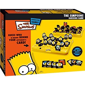 Click to buy Guess Who game clone: Simpsons from Amazon!