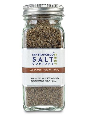 4 Oz Glass Shaker - Alderwood Smoked Sea Salt