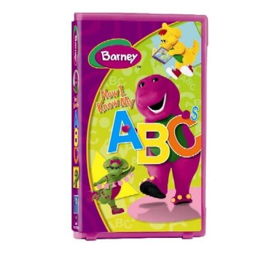 Amazon.com: Barney - Now I Know My ABC's [VHS]: Barney