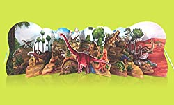 THE WORDL OF DINOSAURS (POP-UP BOOKS)