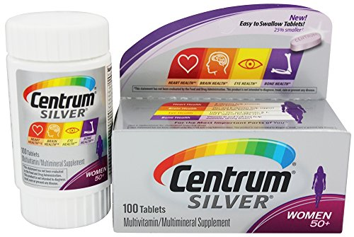 Centrum Silver Multivitamin Women 50+ - 100 Ct