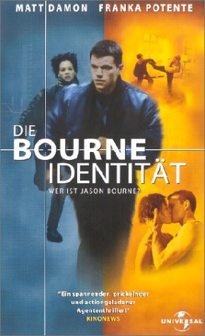 Die Bourne Identität [VHS]