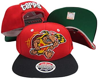 Maryland Terrapins Red Black Refresh Two Tone Plastic Snapback Adjustable Plastic... by Zephyr