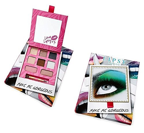 Lipsy London Make Me Gorgeous Neutral Shades & Tones Makeup & Mirror Set by Lipsy