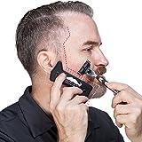 Butyface Beard Styling tool & Shaping Template for using beard timmer to design beard & Mustache/Cheek/Neck/Jaw line