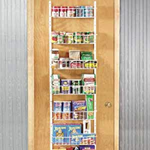 24 inch wide adjustable door rack pantry organizer kitchen home. Black Bedroom Furniture Sets. Home Design Ideas