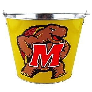 Buy NCAA Maryland Terrapins Bucket, 5-Quart by Boelter Brands