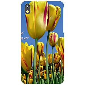 HTC Desire 816G Back Cover - Sunflower Designer Cases