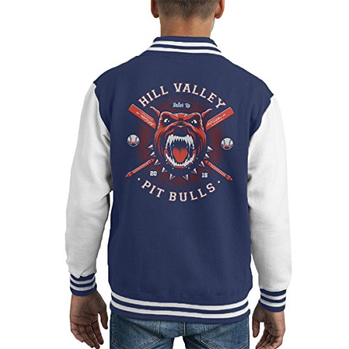 Hill Valley Pit Bulls Back To The Future Kid's Varsity Jacket