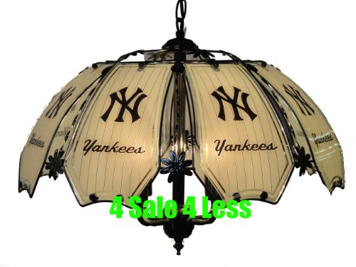 NEW MLB New York Yankees Hanging Ceiling Lamp 8738C-NYY at Amazon.com