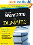 Word 2010 f�r Dummies (Fur Dummies)
