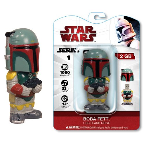 Star Wars 2 Gig USB Drive - Boba Fett