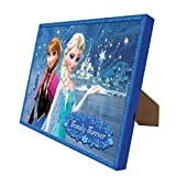 Disney's 'Frozen' Princesses Illuminart Canvas Art, 8 by 10-Inch