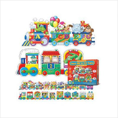 Picture of The Learning Journey Numberland Express & Alphabet (B002IXKJ3A) (Floor Puzzles)