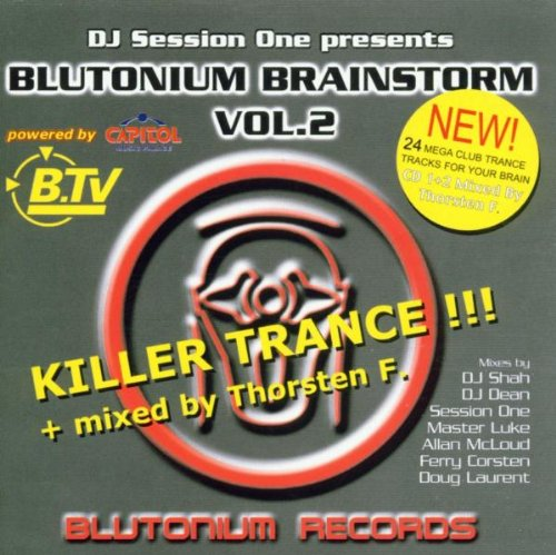 DJ Sessions One - Blutonium Brainstorm Vol. 2